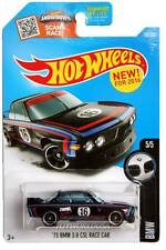2016 Hot Wheels #190 BMW 1973 BMW 3.0 CSL Race Car black