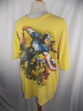 Vintage Avengers Marvel Comics Shirt Men's Large Captain America Spiderman  Iron