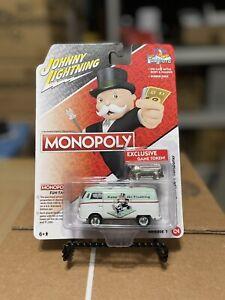 Johnny Lightning 1:64 Monopoly 1965 Volkswagen Transporter with Token