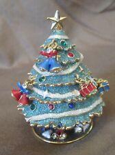 Rucinni Christmas Tree -Charm Ornaments & Crystals Trinket Box