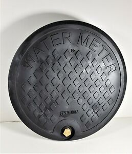 "Trumbull Type-X Polymer Water Meter Box Cover, 12-1/2"" lid for 11-1/2"" I.D. Ring"