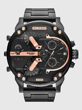DIESEL DZ7312 - MR. Daddy 2.0 Black/Rose Gold Chronograph Men's Watch