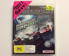 RIDGE RACER UNBOUNDED LIMITED EDITION 3 CARS + 5 PAINT JOBS, NAMCO - Sony PS3