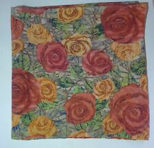 RosesLiberty of London silk pocket square