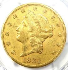1882-CC Liberty Gold Double Eagle $20 - PCGS XF40 (EF40) - Rare Carson City Coin