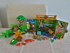 Playmobil Wald Tiere Rehe / Füchse / Förster / Pflanzen