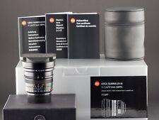 Leica M 21mm 1.4 ASPH 6bit Summilux schwarz 11647 FOTO-GÖRLITZ Ankauf+Verkauf