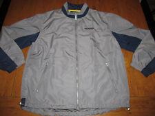 Vintage Tommy Hilfiger Athletics Gray Windbreaker Jacket Pants Track Suit Sz XL