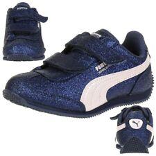 Puma Whirlwind Glitz V PS Baby Mädchen Schuhe Glitzer blau 363974 09