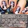 BORN PRETTY Nagel Schablone BP-L030 12,5 x 6,5cm Nail Art Stamp Template