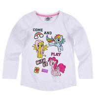 77f1a179d Girls Kids Children My Little Pony Long Sleeve Tshirt Top Age 3-10 Xmas 2017