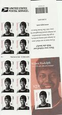 Wilma Rudolph Stamp Booklet Pane - Usa #3436 23 Cent Single-Sided Booklet Sport