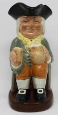 "Royal Doulton Large Toby Jug Happy John D6031 8 1/2"" Tall"