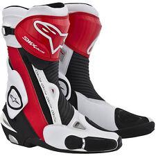Stivali da guida fuoristrada rosso Alpinestars