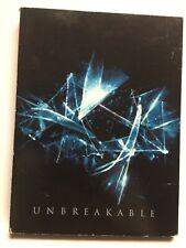 Unbreakable (Dvd,2001,2-Disc Set,Widescreen) Bruce Willis,Great Shape! Usa!