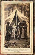 New ListingRare Civil War Cdv Caricature Of President Jefferson Davis' Capture In 1865.