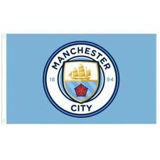 Manchester City FC Flag - Crest