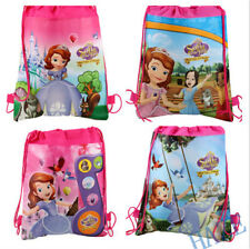 Sofia princess Backpack Swimming Clothes Environmental Drawstring Bag