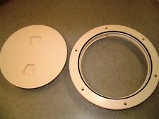 "GRADY WHITE OEM COLOR MATCHED SCREW OUT DECK PLATE - 6"" - TAX FREE!!!!"