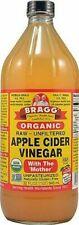 Bragg Raw and Organic Apple Cider Vinegar, 32 Fl Oz-- Pack of 2