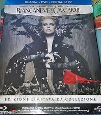 BIANCANEVE E IL CACCIATORE - STEELBOOK EDITION (BLU-RAY + DVD + E-COPY)
