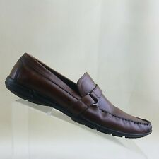 Bostonian Mens Loafers Size 8.5M Leather Brown Shoes #C43