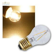 5 x E27 FILAMENTO LAMPADA LED LAMPADINA EXTRA BIANCO CALDO 2100K 120 lm
