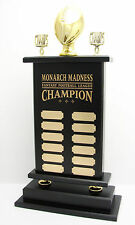 """12 YEAR, 23"""" FANTASY FOOTBALL TROPHY! FREE ENGRAVING! SHIPS IN 1 DAY"""