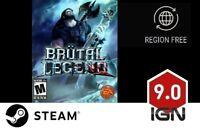 Brutal Legend [PC] Steam Download Key - FAST DELIVERY