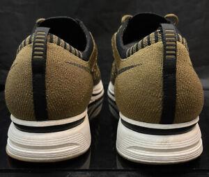 Nike Flyknit Trainer Sz 13 Multi Woven Vintage Og Racer Mesh lot Brown Beige