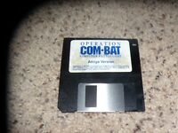 "Operation Combat Commodore Amiga 3.5"" disk"