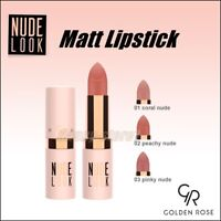 Golden Rose Nude Look Perfect Matte Lipstick Natural Nude Shades