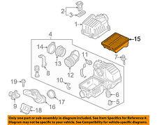 HONDA OEM 10-14 Insight Engine-Air Filter Element 17220RBJ000