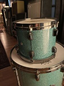 "Tama Star Classic Bubinga Turquoise Green 9"", 12"", 16""22"" 4 Piece Kit"