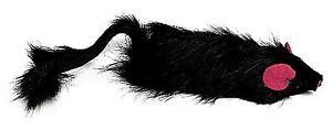 Spot Shaggy Plush Ferret Rattle & Catnip Cat Toy