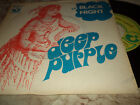 "DEEP PURPLE ""BLACK NIGHT/SPEED KING"" 7"" FRANCE RARE"