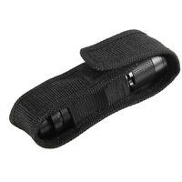 13cm Black Nylon Holster Holder Belt Pouch Case Bag for LED Flashlight Torch CT