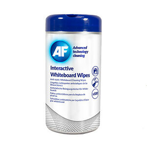 Advanced Technology Cleaning Interactive Whiteboard Wipes - Tub of 100