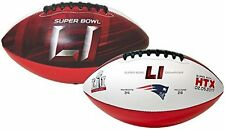 Super Bowl LI 51 Official Size New England Patriots Champions Football