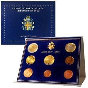1er EDITION VATICAN 2002 Très RARE COFFRET BU avec PAPE JEAN-PAUL II (1CT à 2 €)