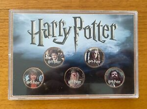 Harry Potter Half Penny Pennies British Coin Set - Set of 5 Coins - Heroes