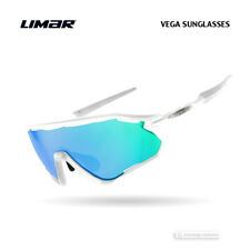 Limar VEGA Polycarbonate Cycling Sunglasses : WHITE