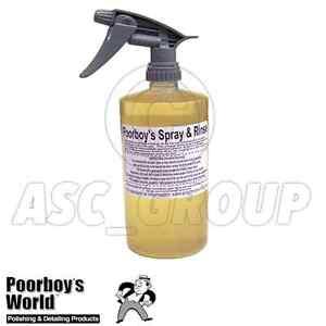 Poorboy's World Wheel Cleaner Spray and Rinse Agressive 32oz 946ml