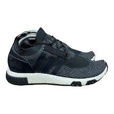 Adidas NMD Racer Primeknit Mens Running Shoes Black Grey White AQ0949 Size 8
