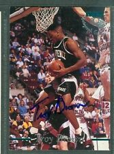 Troy Brown Basketball Auto 1995-96 Classic '95 Signature Autograph Signed Card