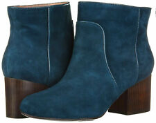 New in Box Aerosoles Women's Teal Real Suede Boots Size UK 10 / US12