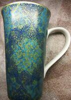 222 Fifth Evo Opulent Blue Tall Mug