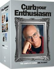 CURB YOUR ENTHUSIASM 1-8 THE COMPLETE SEASON 1 2 3 4 5 6 7 8 DVD COLLECTION
