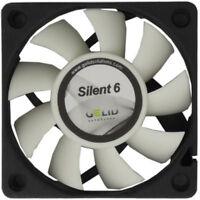 GELID Solutions Silent 6 60mm Case Fan 3200 RPM, 16 CFM, 24 dBA (FN-SX06-38)