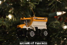 Custom 1/64th Scale Farm Sowing Machine Seeding Truck Christmas Ornament CAT